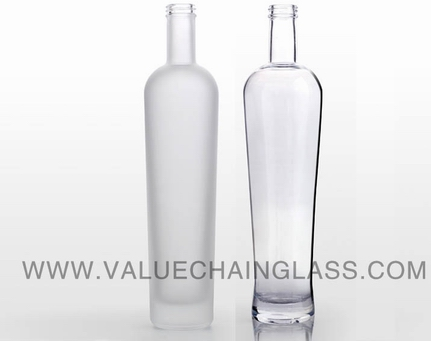 high end glass bottle
