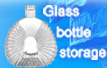 Glass bottles storage instructions